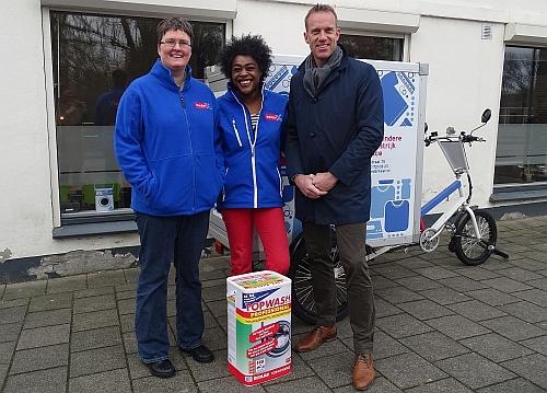 Was & Strijk krijgt wasmiddel van Ecolab